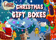 juegos adventure time christmas gift boxes