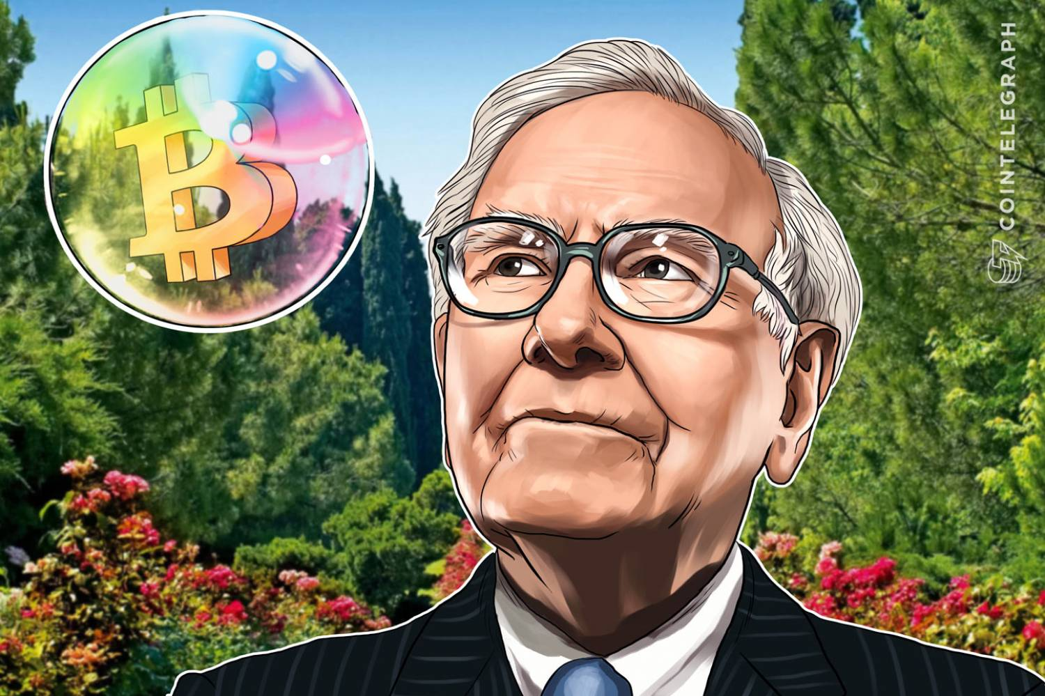 Warren Buffett said that bitcoin lacked intrinsic value.