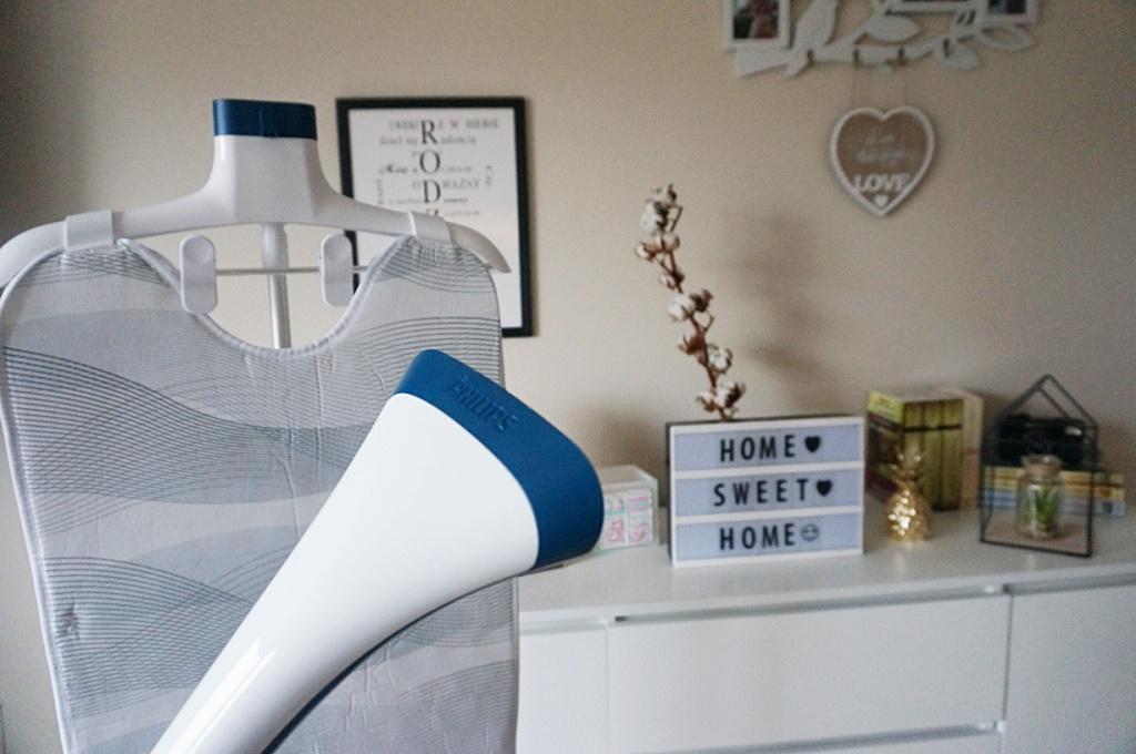 parownica stojąca Philips Easy Touch Plus odświeżanie ubrań