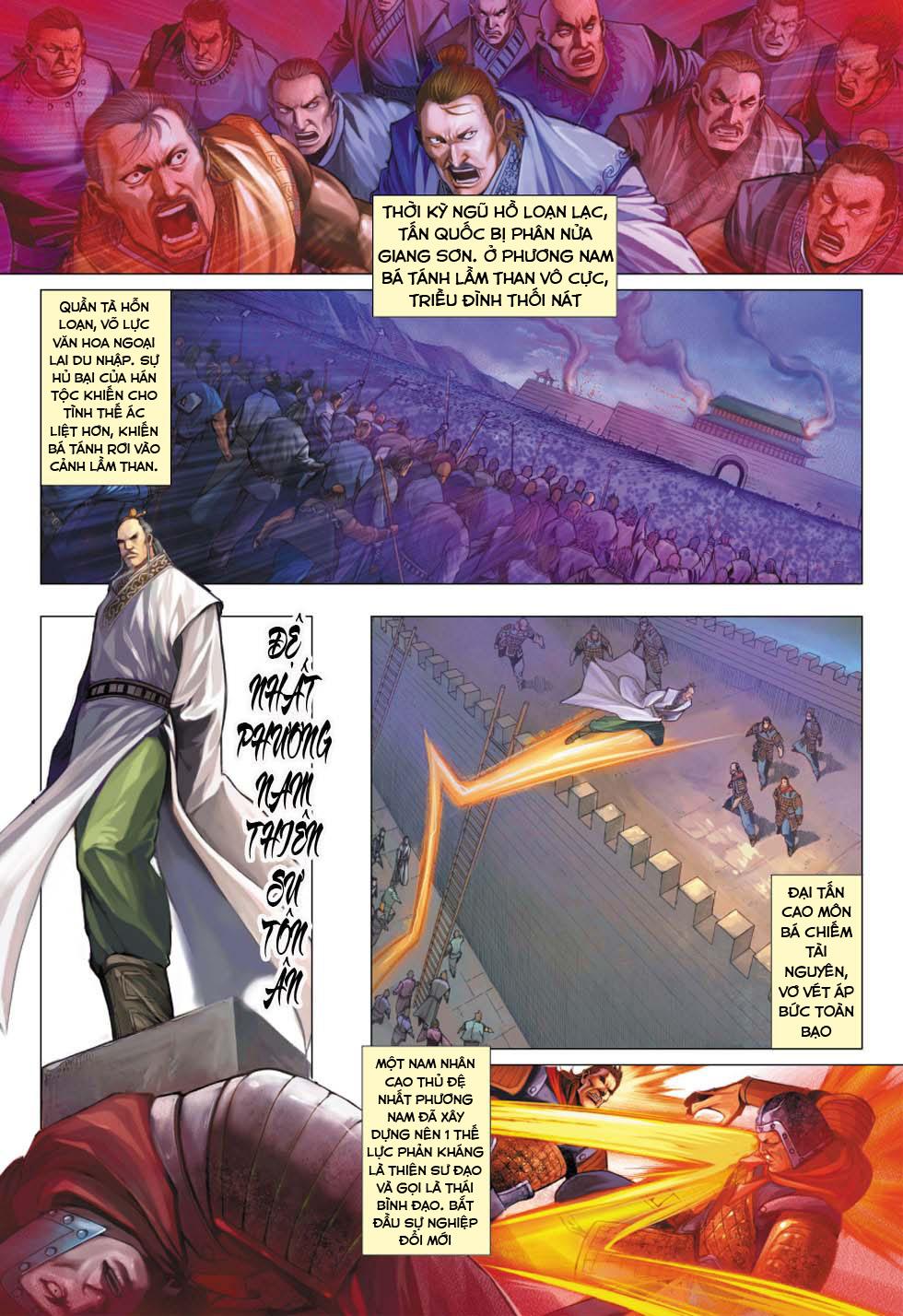Biên Hoang Truyền Thuyết Chap 55 . Next Chap 56