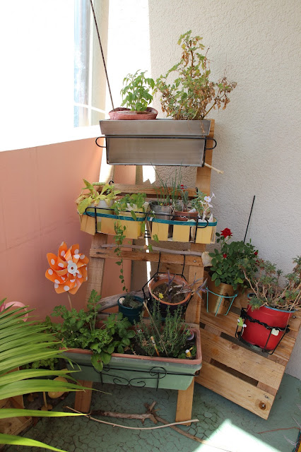 kitty crumpets diy mon balcon 2015 et des recettes. Black Bedroom Furniture Sets. Home Design Ideas