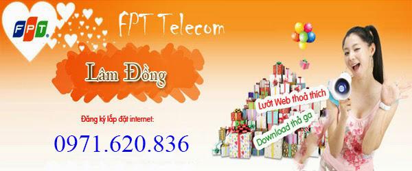 đăng ký internet fpt phường Lộc Phát, bảo lộc
