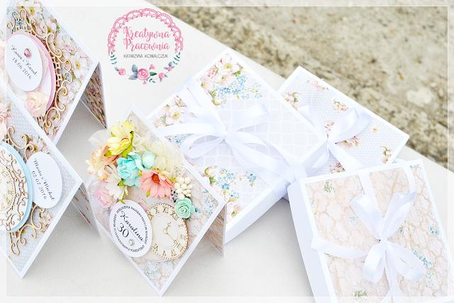 kwiatowa kartka urodzinowa