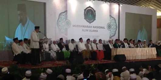Ratusan Ulama Hadiri Ijtihad Politik Nasional, Nyatakan Dukungan untuk Jokowi-Maruf