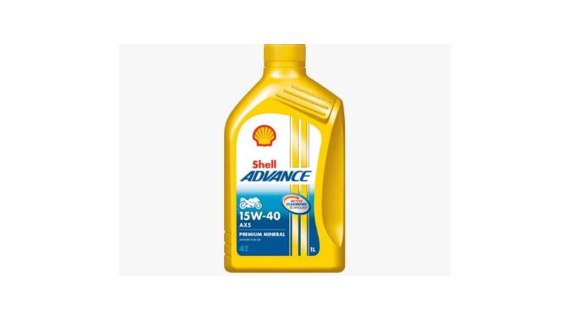 foto dan harga oli Shell advance AX5 terbaru