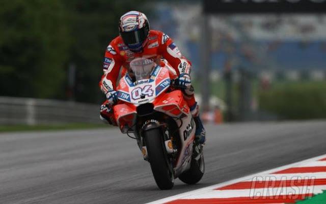 Dovizioso Juara MotoGP Inggris 2017, Rossi Ketiga