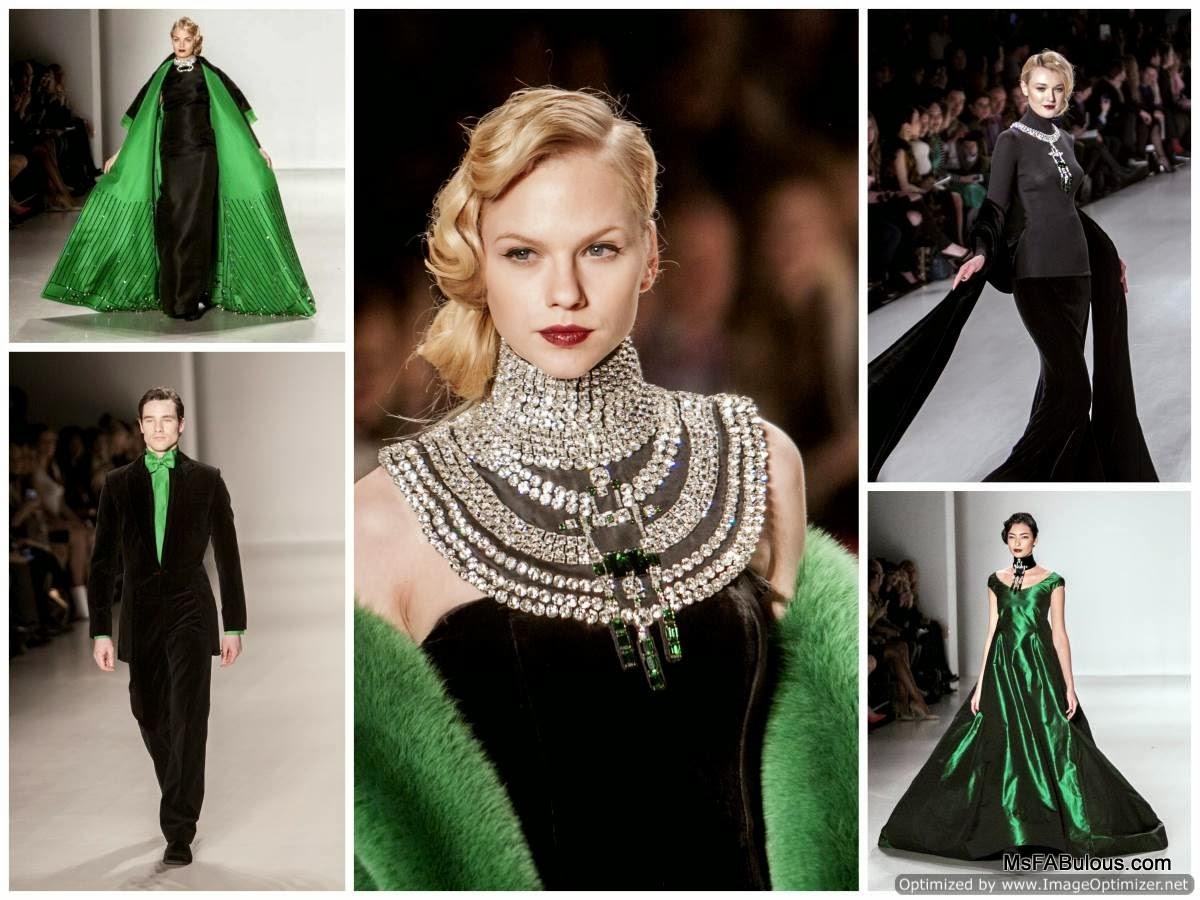 Ms Fabulous Zang Toi Fall 2014 Fashion Design Indie
