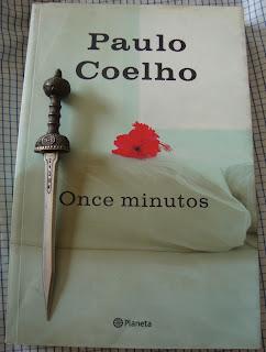 Portada del libro Once minutos, de Paulo Coelho