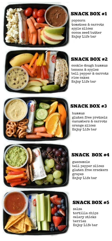 KIDS SNACK BENTO BOXES #kidssnack #bento #boxes #healthysnack #healthysnackideas #healthyfood #healthyrecipes