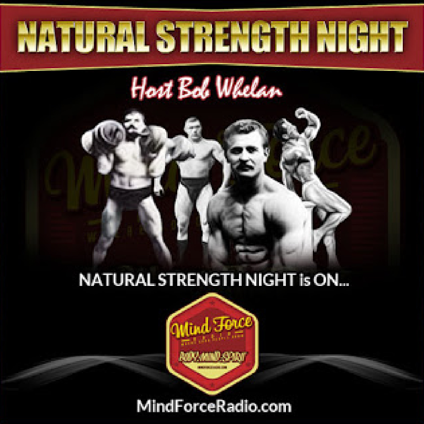 oldtime strongman podcasts strength conditioning coach vintage  old school weight training mental aspects big arms powerlifting christian iron dave yarnell interview bob whelan natural strength night podcast