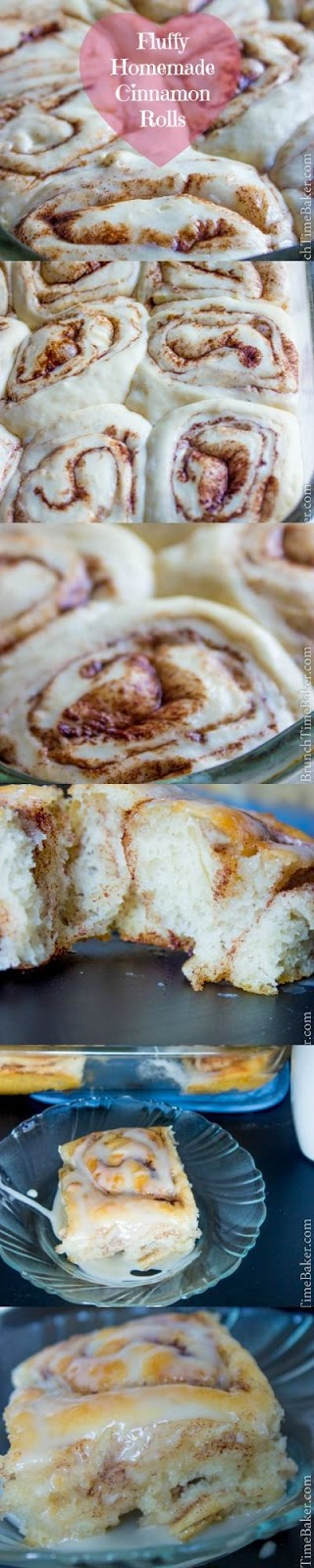 Fluffy, soft, tender, sweet, Cinnamony, simply mouth watering Cinnamon rolls. It was really great to wake up this morning to fresh cinnamon rolls. I threw these babies in the oven at 7 am and by