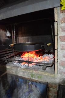 Disco arado al fuego