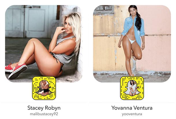 20 mulheres sexy para seguir no Snapchat - Parte 2