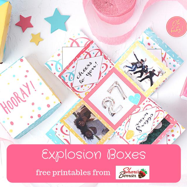Explosion Box Designs