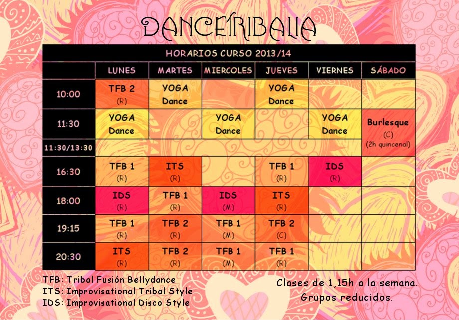 clases tribal fusion