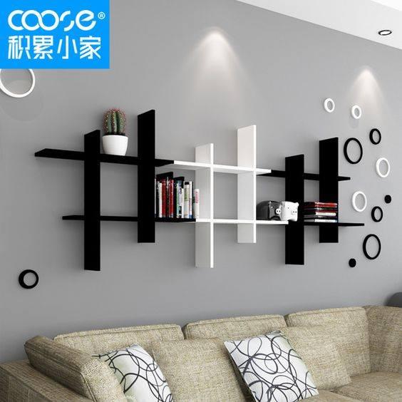 Best 50 Wooden wall shelves design ideas for modern homes 2019