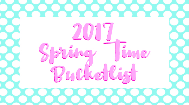 2017 Spring Bucketlist - Hall Around Texas