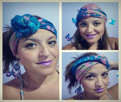 Modelos de como usar o turbante