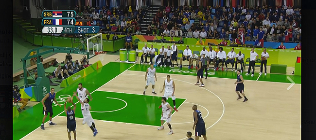 Tony Parker's AMAZING Game-Winning Shot vs Serbia (VIDEO) Rio Olympics 2016