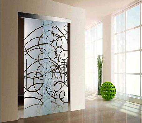 Contoh gambar pintu kamar mandi cantik untuk design rumah minimalis