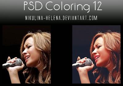 تأثيرات فوتوشوب Psd مع الامثله عليها قبل التحميل