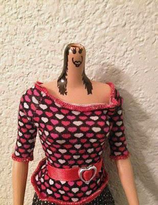 Lustige Puppen Bilder - Frau ohne Kopf