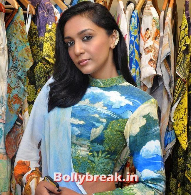 Shweta Salve, Shweta Salve at Aarti Vijay Collection Showcase