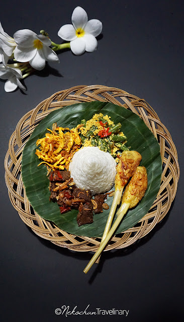 Home Balinese set menu from Black Garlic