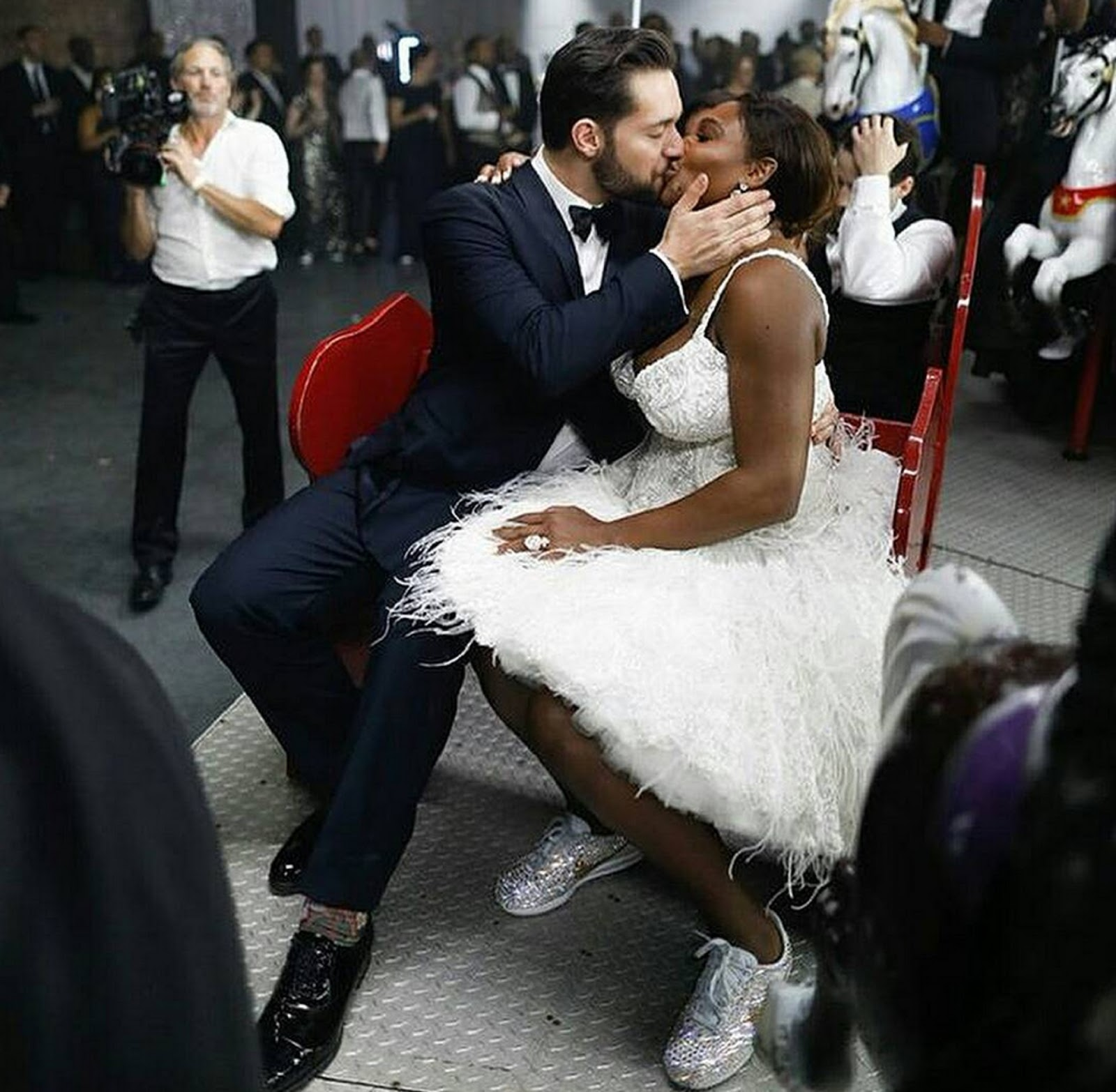 SERENA WILLIAMS, ALEXIS OHANIAN WEDDING 5