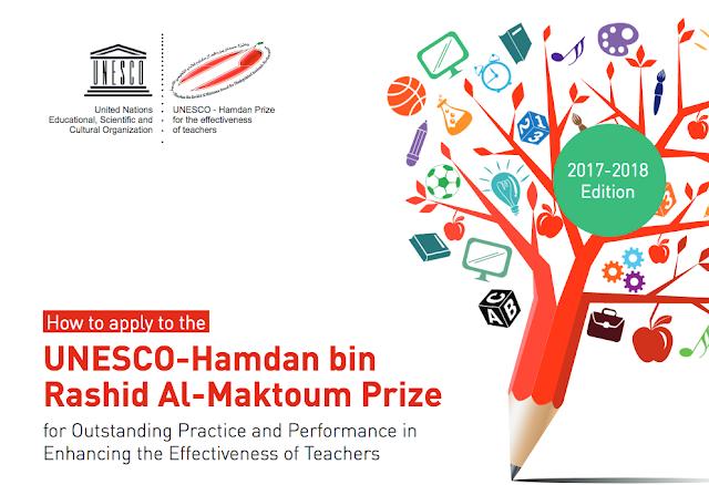 UNESCO - Hamdan bin Rashid Al-Maktoum Prize 2018