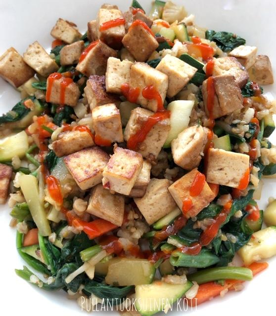 #terveellinenruoka #wokki #findus #tofu #kasvisruoka #healthylifestyle #healthyfood #healthyrecipes #terveellinenruoka #hyvinvointi #kalorit #runsasproteiininen #vähähiilihydraattinen #paljonkasviksia #inkivääri #helpporuoka #nopeatjahelpot #easycooking