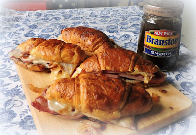 Spicy Ham & Cheese Croissants
