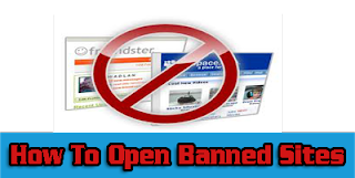 Open Banned Websites WIth Proxy Sites