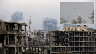 Rezim Syiah Suriah Intensifkan Serangan Di Kota Jarjanaz, Idlib