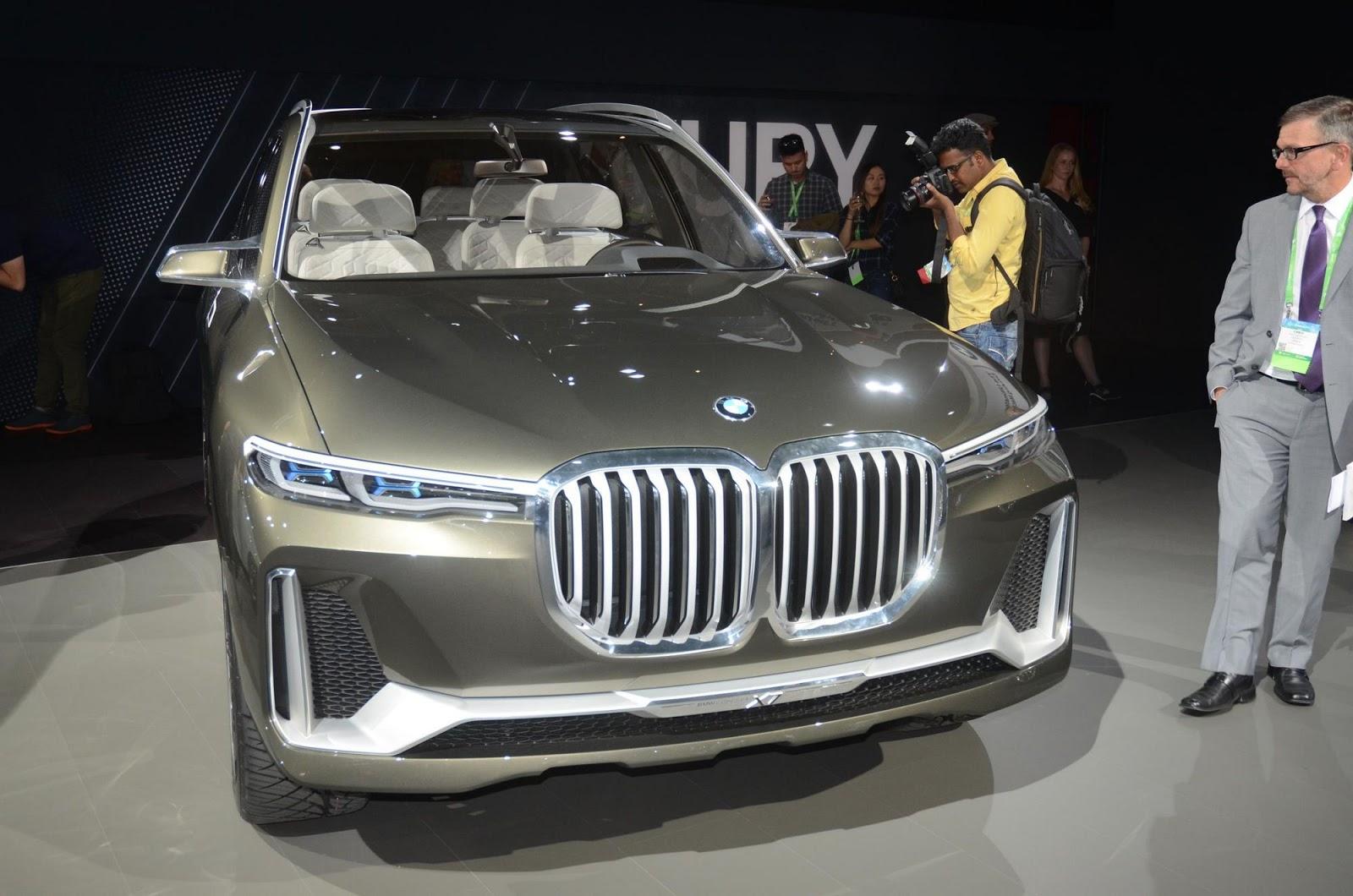 Bmw S Huge X7 Iperformance Concept Arrives In La Carscoops