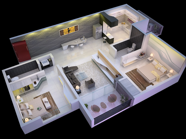 small-house-floor-plan-design-decorated-in-apartment-style-with-recessed-lighting