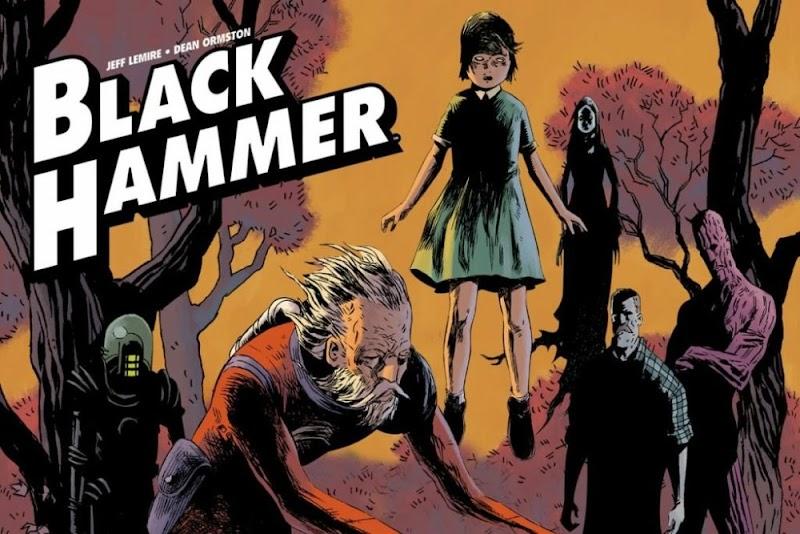 Hora de Ler: Black Hammer - Origens Secretas - Jeff Lemire
