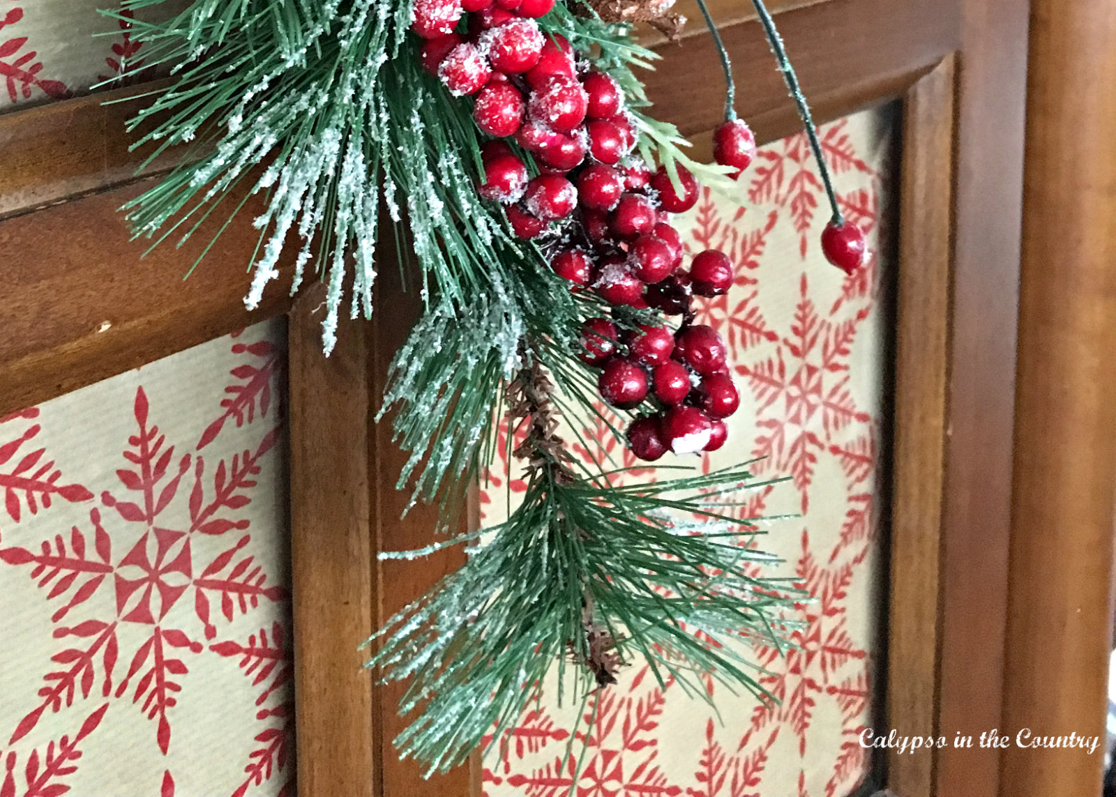 Using Wrapping Paper In Home Decor