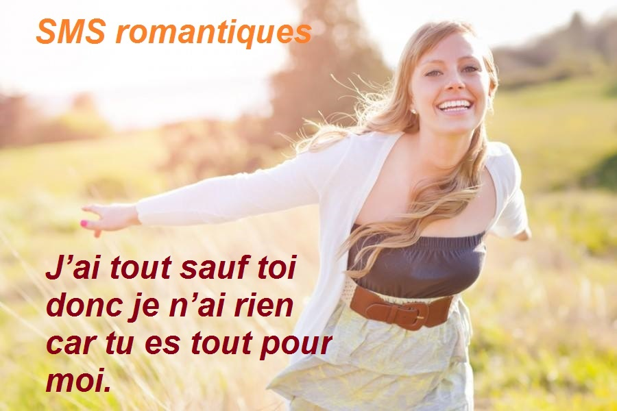 les meilleurs SMS romantiques en photo