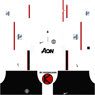 8ede67f61 Manchester United Kits 2012 2013 - Dream League Soccer - Kuchalana