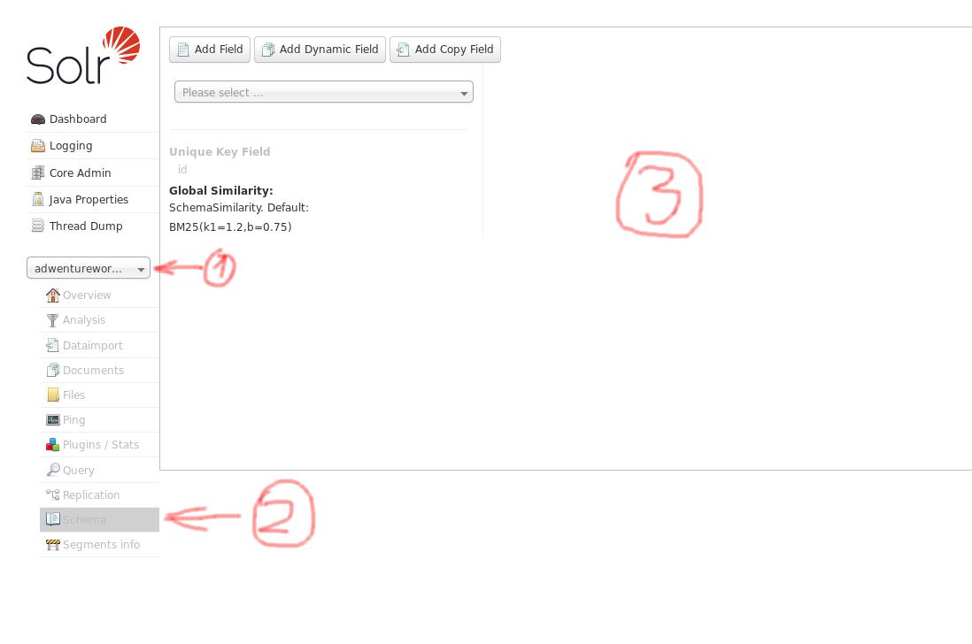 Solr 7 beginner tutorial: dataimport from PostgreSQL database