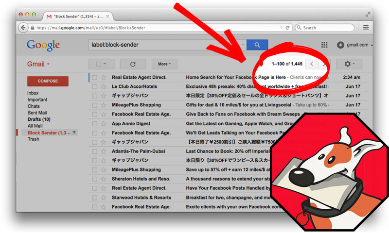 how to stop spam emails