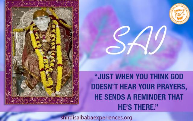 Shirdi Sai Baba Blessings - Experiences Part 2771