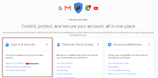 ganti kata sandi gmail
