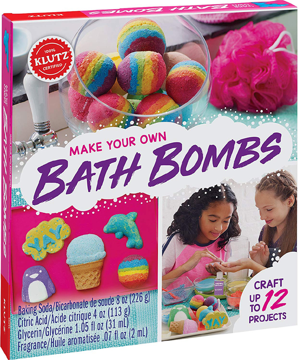 Klutz make your own bath bomb kit