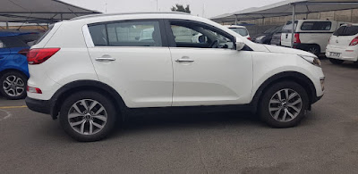 GumTree OLX Used cars for sale in Cape Town Cars & Bakkies in Cape Town - 2014 Kia Sportage 2.0 Automatic in white Km 066458