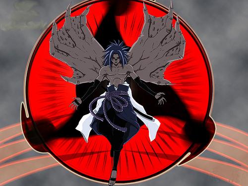 Image de sasuke en demon - Fonds d'écran HD