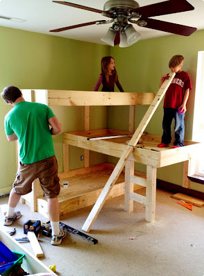 The Best Interior Triple Bunk Bed