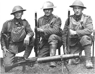 Canadian Soldiers in WW I