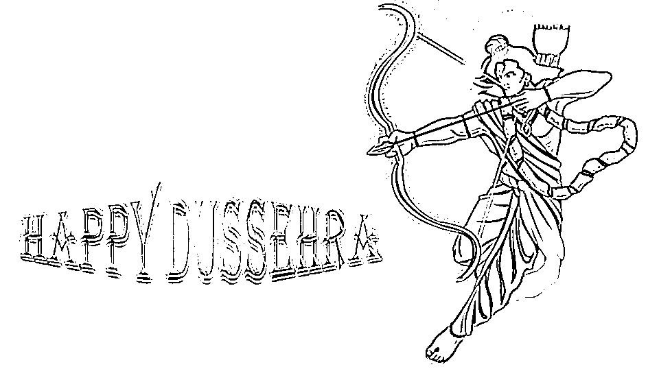 Best Durga Puja And Dussehra Drawings Enjoy Colouring Diwali